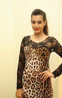 Actress Deeksha Panth Picture Gallery in Short Dress at Ee Varsham Sakshiga Movie Audio Launch 36
