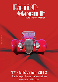 Ja hi ha les dates del Retromobile 2012