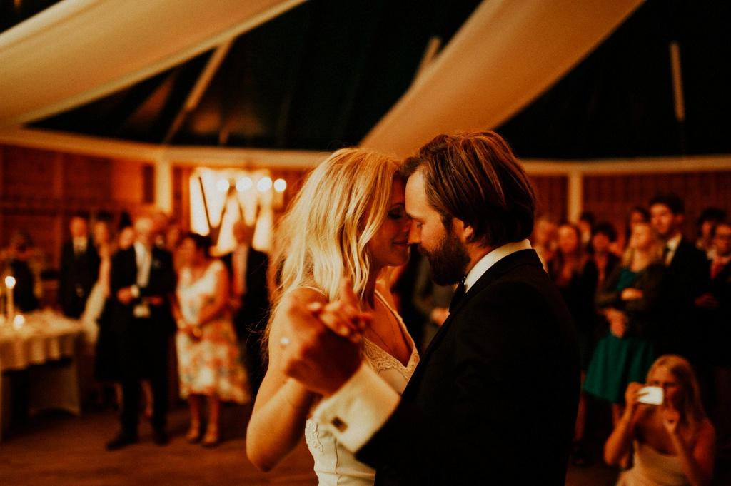 Evelina och Andreas bröllopsvals i Värnamo