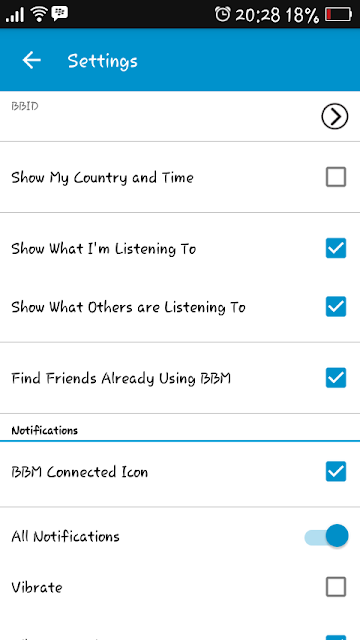 Show What I'm Listening To On BBM