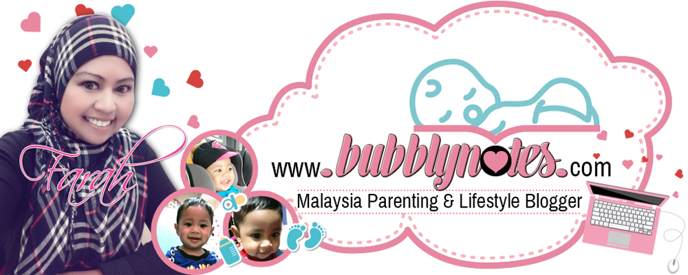 Bubblynotes - Malaysia Parenting & Lifestyle Blogger