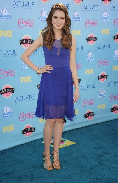 red carpet dresses laura marano teen choice awards 2013