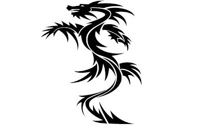 Tatuagens Tribais de Dragão
