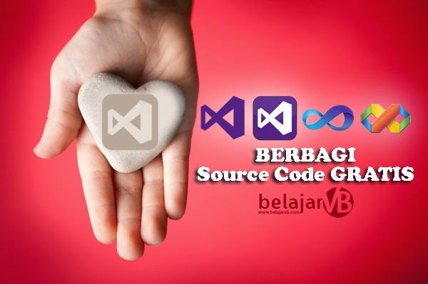 Source Code Visual Basic Gratis - Belajar VB