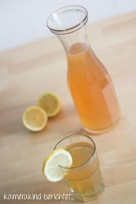 Eistee Zitrone selbstgemacht
