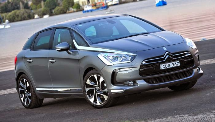 2014 Citroen DS5 will shake the asphalt France