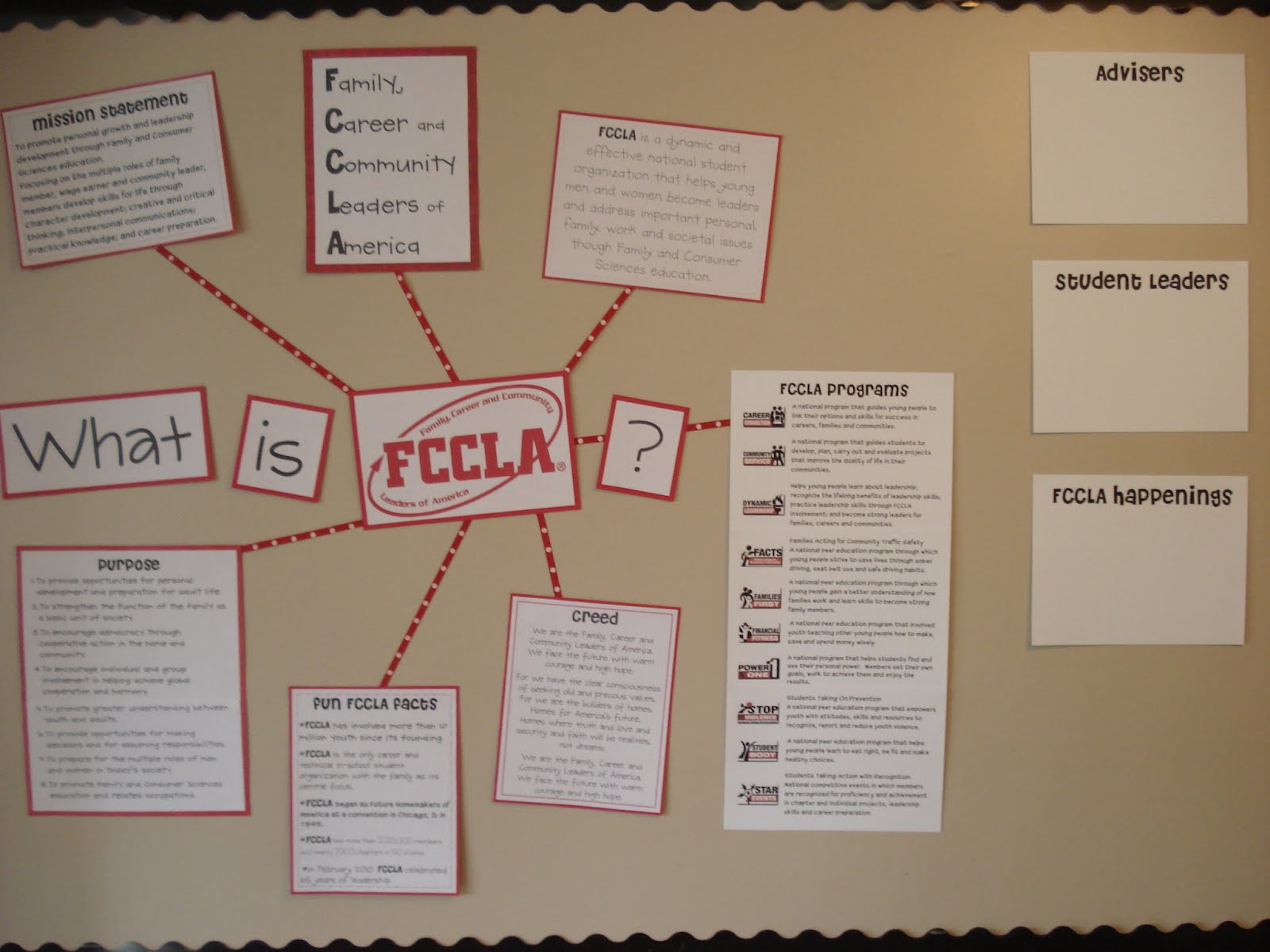 Another Masters Project Made For Someone Else Advertising FCCLA Family Career And Community Leaders Of America I Found All The Information On Their