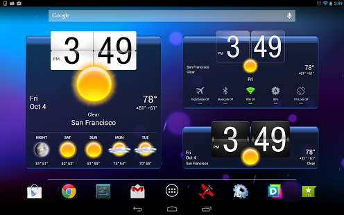 HD Widgets for android