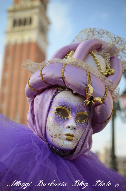 Maschere al Carnevale di Venezia 2014