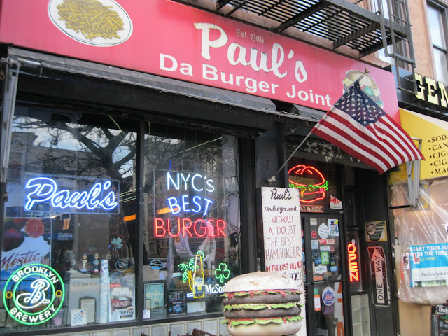 Paul's Da Burger Joint is another great place for casual Dining in New York