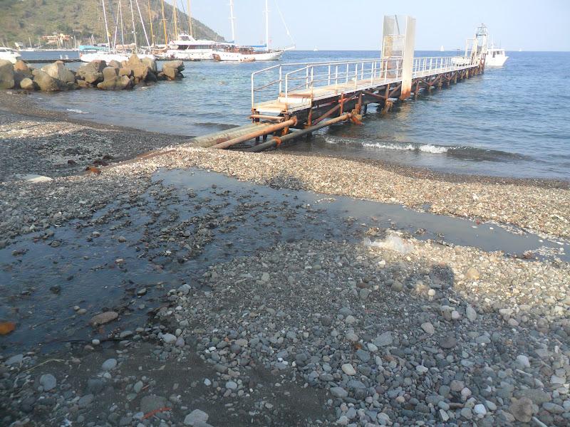 Eolie news da stamani liquami a fiumi a marina lunga e for Depuratore laghetto