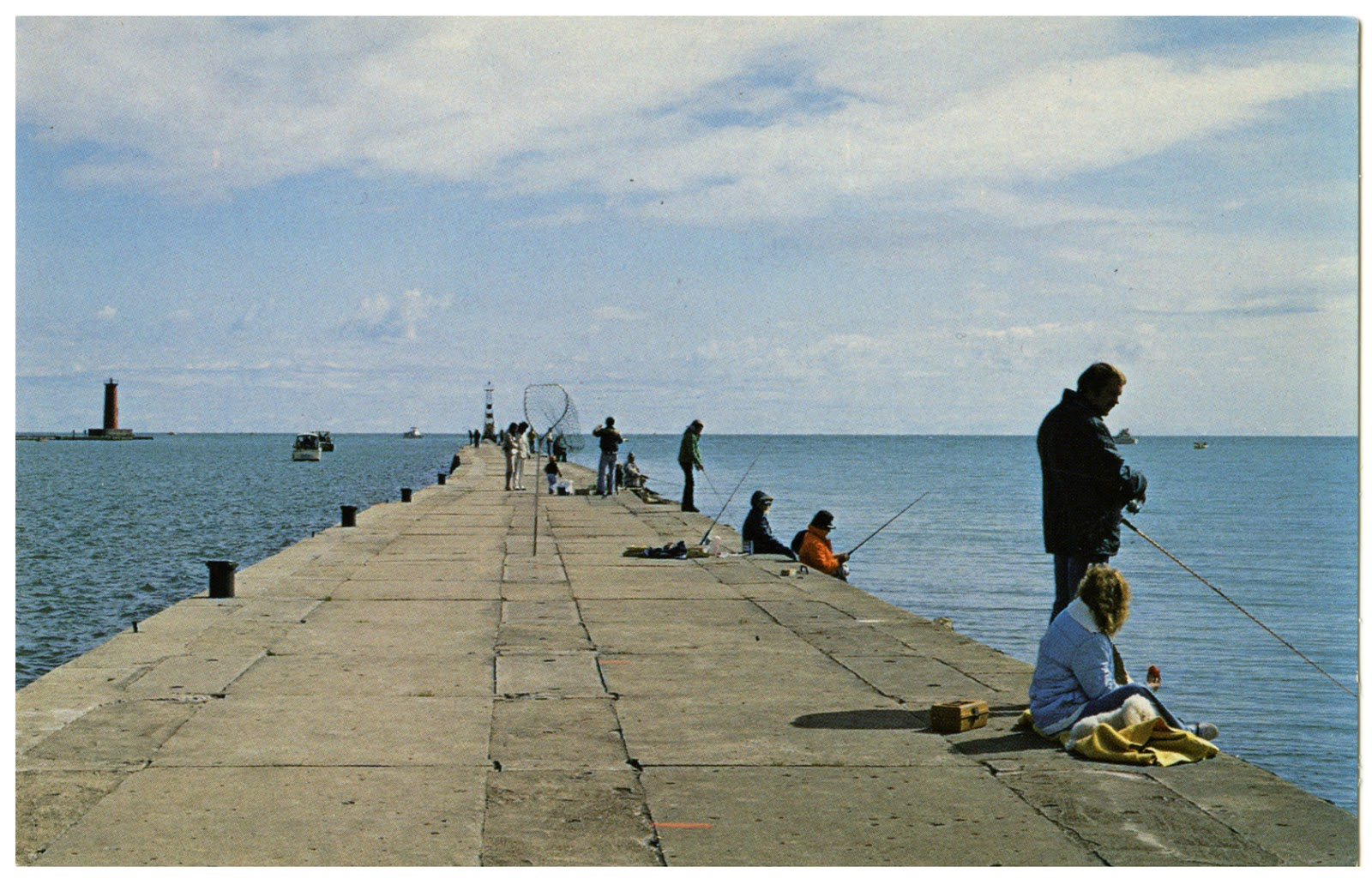 The wisconsin project found sheboygan harbor breakwater for Best fishing in wisconsin