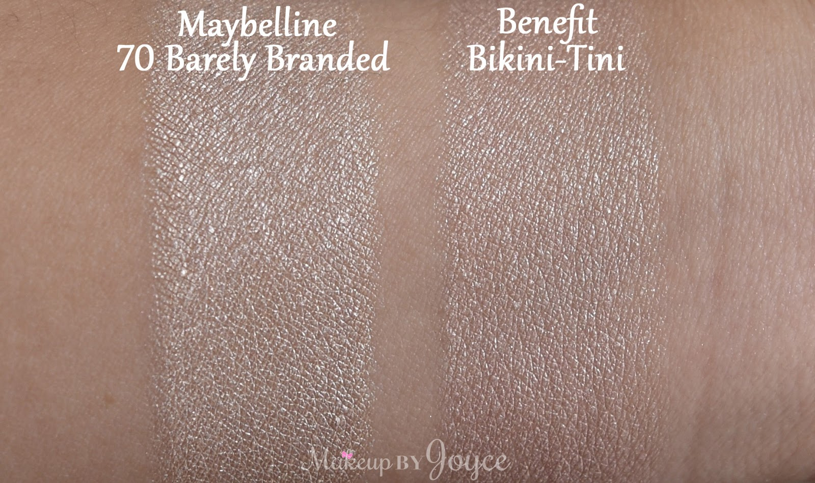 Makeupbyjoyce review swatches sigma synthetic eye for Maybelline color tattoo barely branded