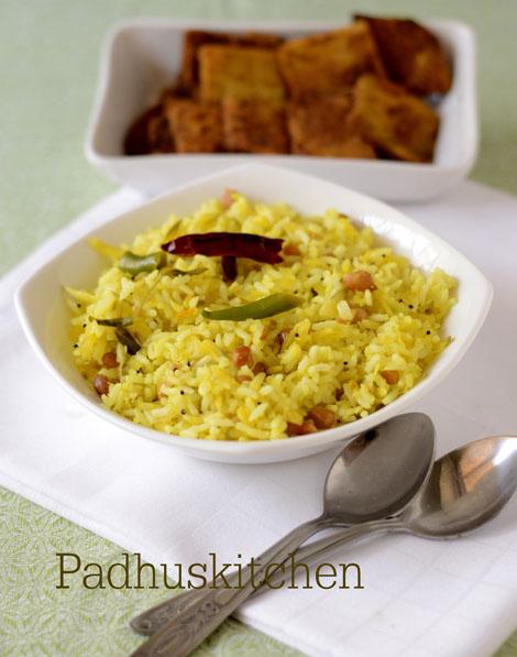Mango rice-Andhra style