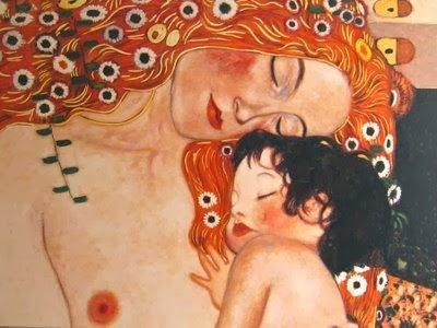 Gustav Klimt. Maternidad