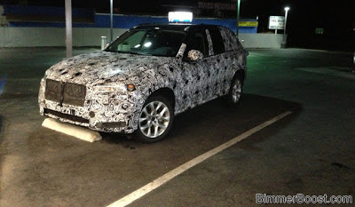 Spyshots: 2014 BMW X7 Spotted Testing in California