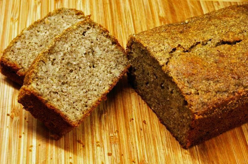Bana Bread Made With Cake Mix