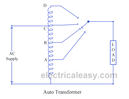 construction of auto transformer