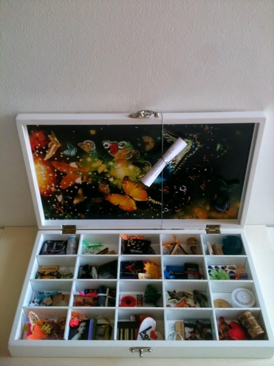 Caja de los sueños para Juanita Galvis