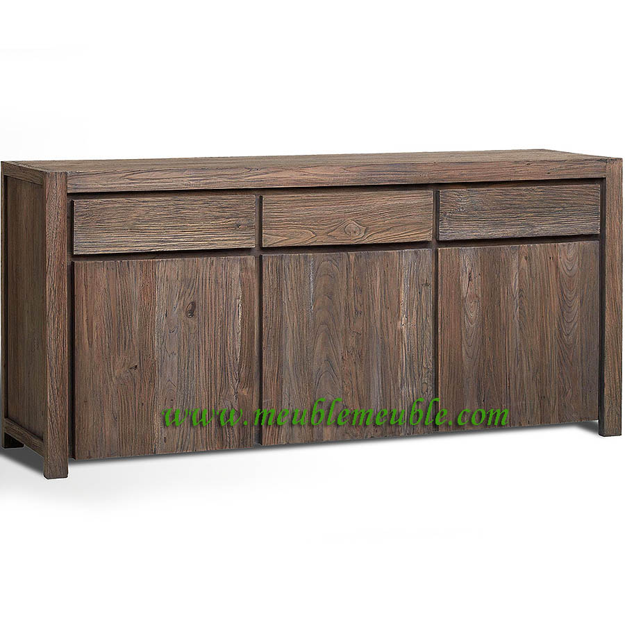 Reclaimed Sideboard Modern Recycled Teak Furniture