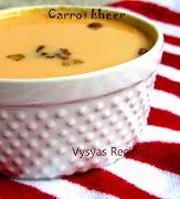 Easy Carrot kheer