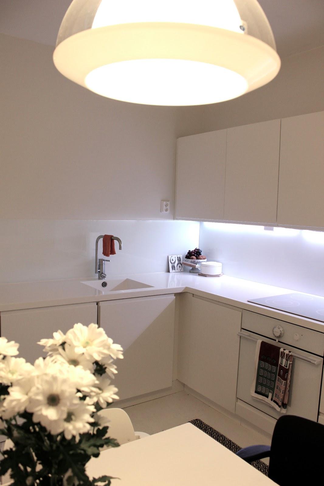 ANUN KOTI Valkoinen keittiö
