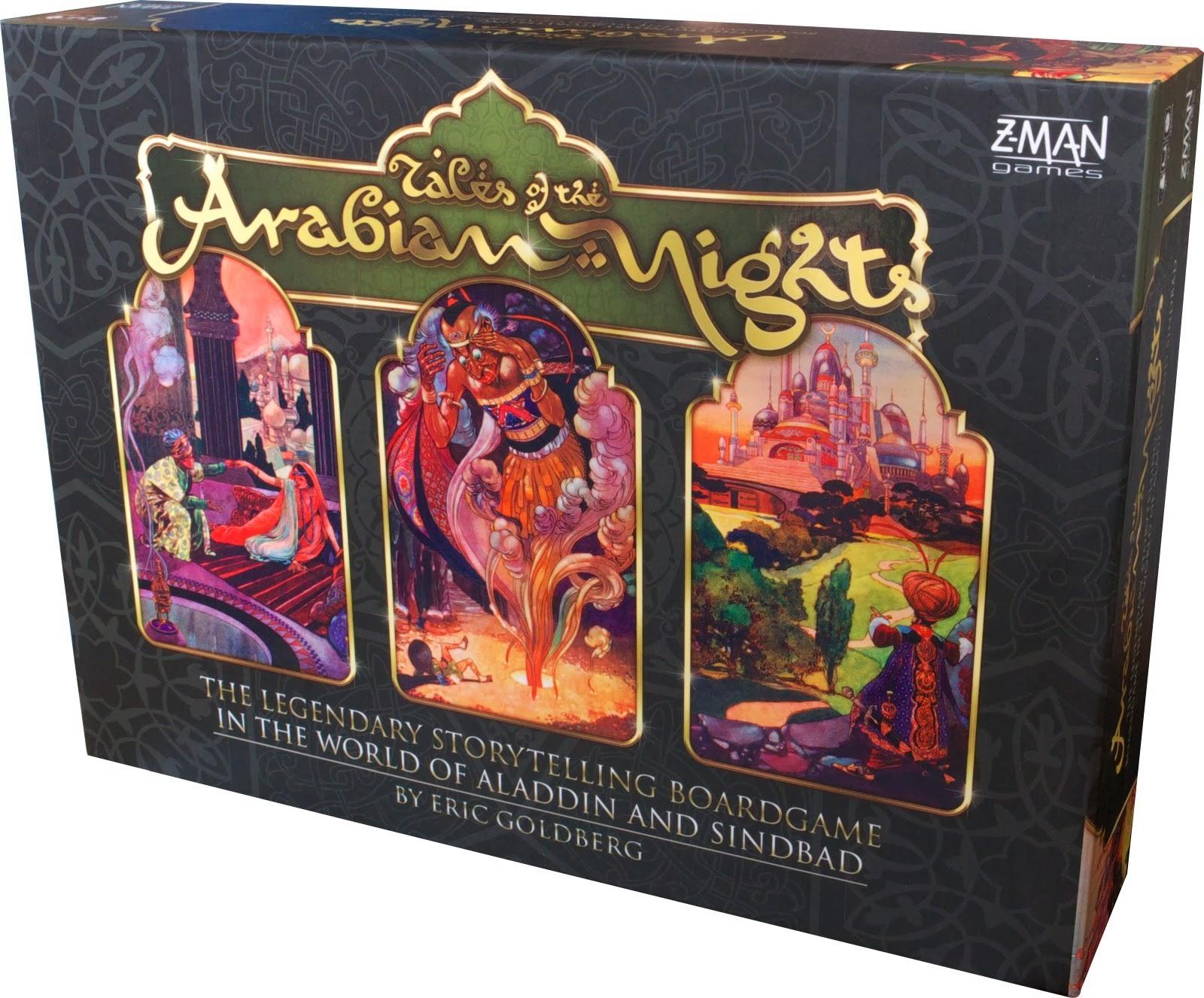 Tales of the arabian nights - caja
