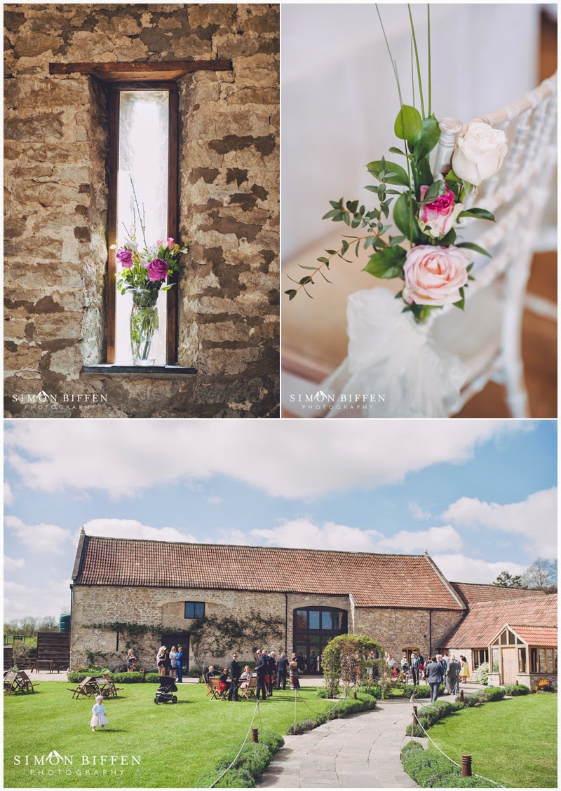 Wedding details  at Priston Mill