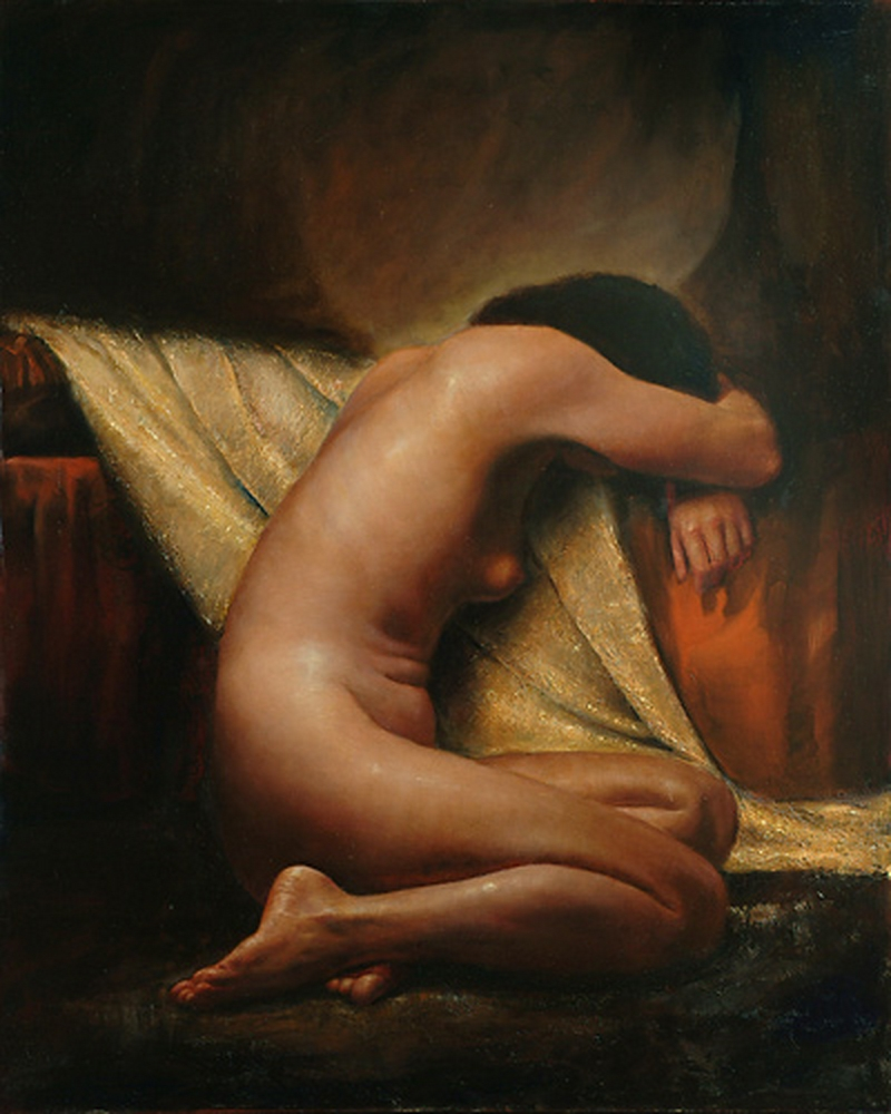D.W.C. Figurative Paints - Painter Terje Adler Mørk