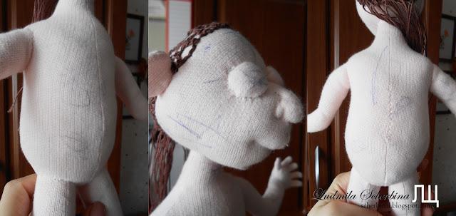 тело текстильной куклы