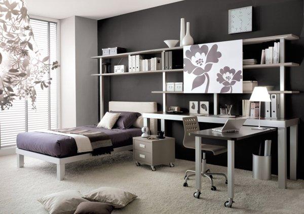 Doos interiorismo dormitorios juveniles con personalidad for Dormitorios para universitarios