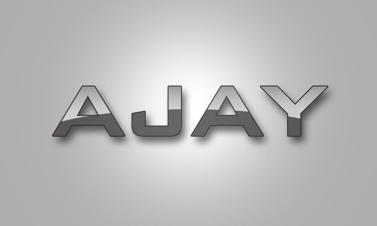 ajay name logo ajay jeyasingh photography