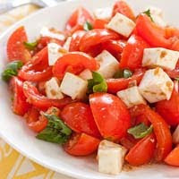 Weight Loss Recipes : Caprese Salad