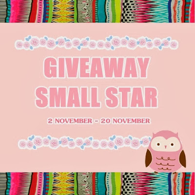 http://isyahsazalee.blogspot.com/2013/11/giveaway-small-star.html