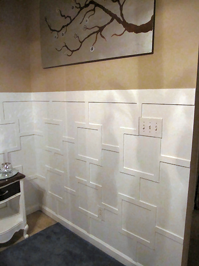 contemporary wainscoting
