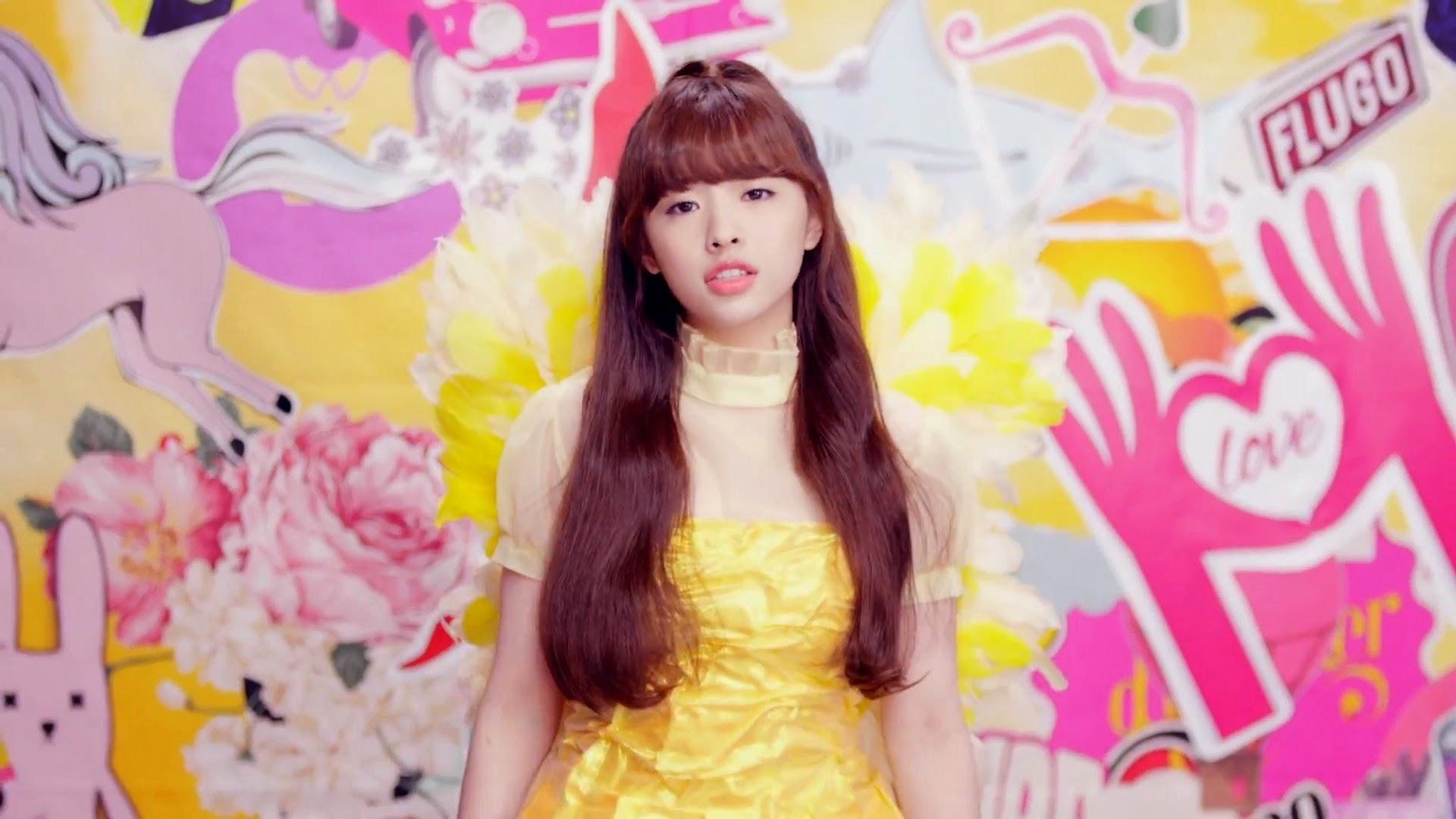 Oh My Girl's Jine in Cupid MV
