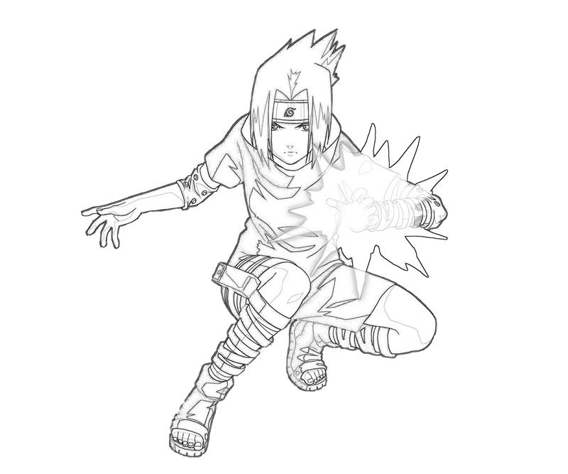 sasuke and coloring pages coloring pages
