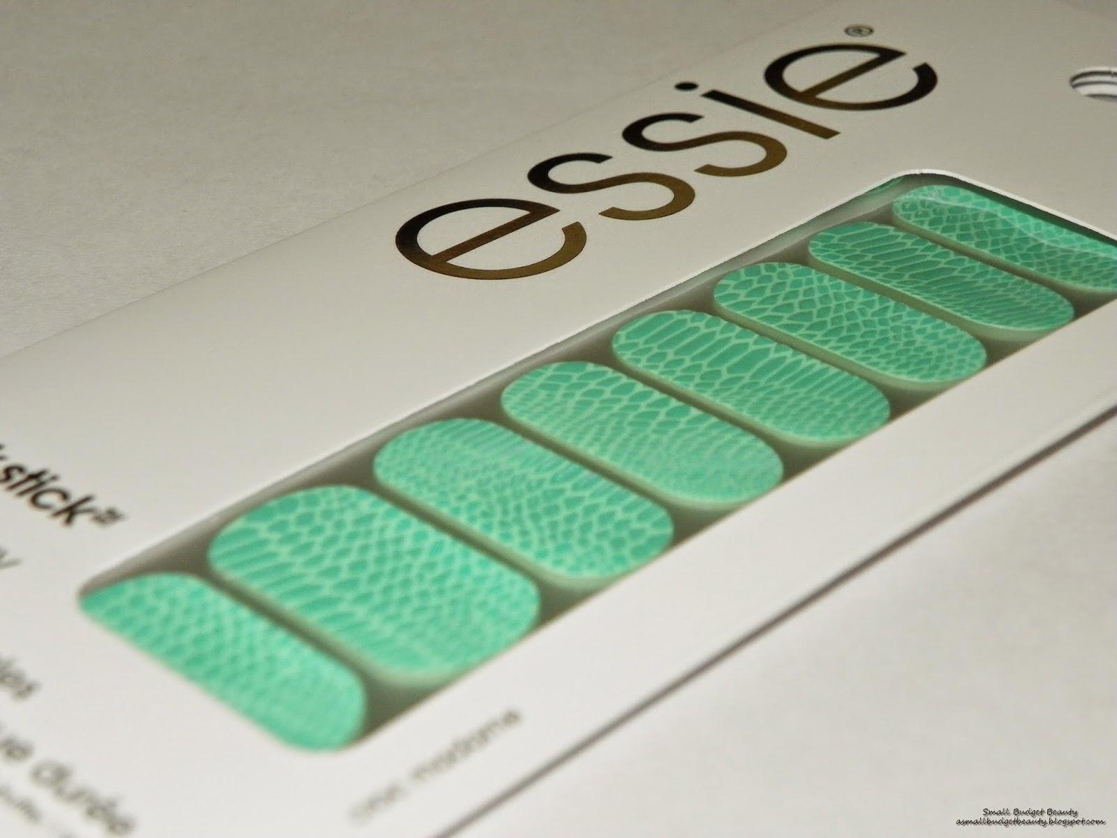 Small Budget Beauty: Review: Essie Sleek Sticks in Croc Madame