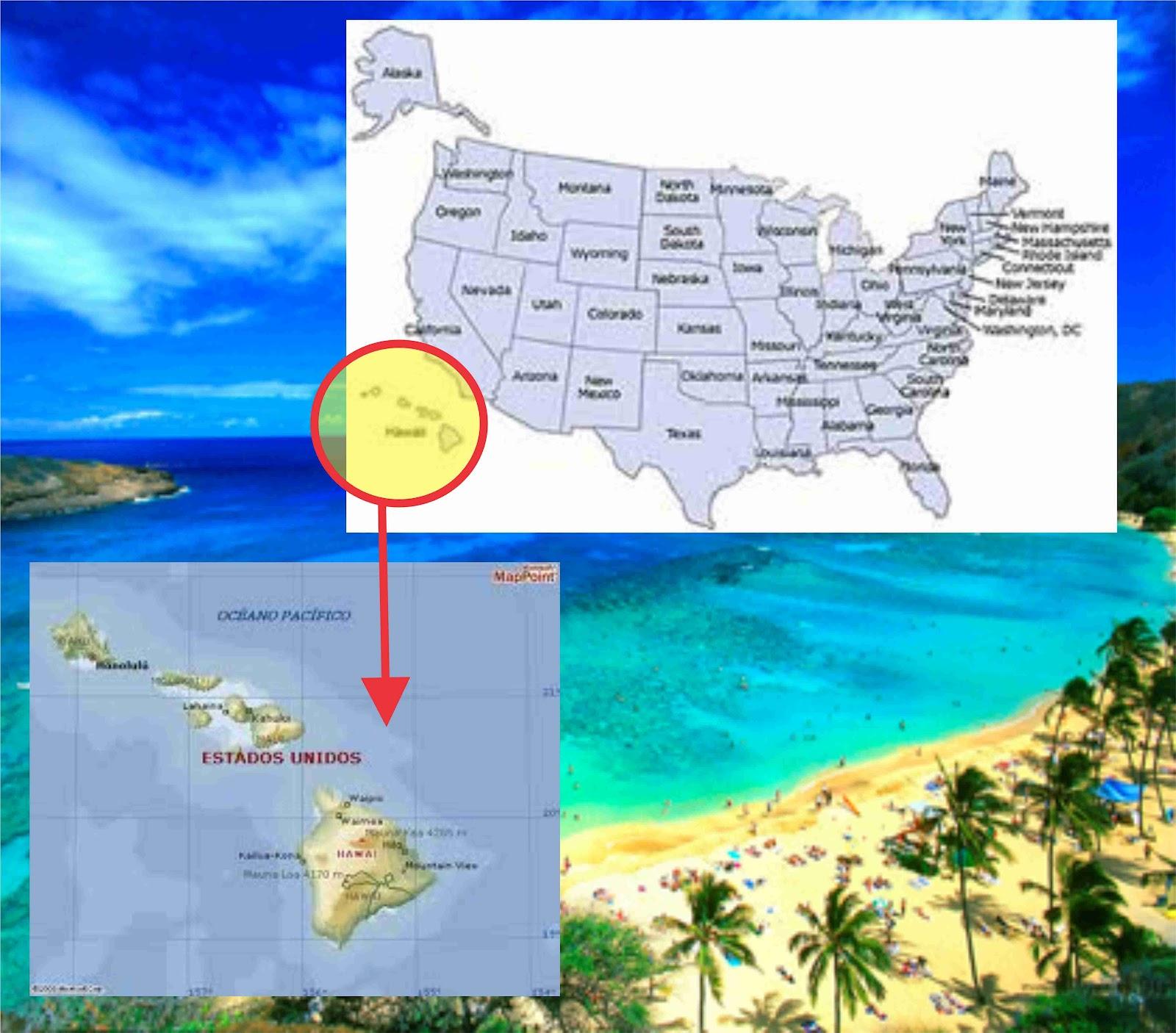hawaii ubicacion