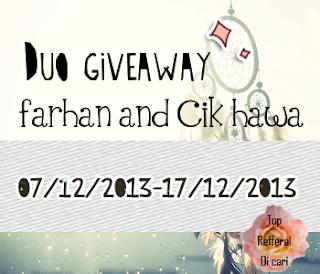 http://aimlesstalkt.blogspot.com/2013/12/duo-giveaway-by-farhan-kerewx-cik-hawa.html