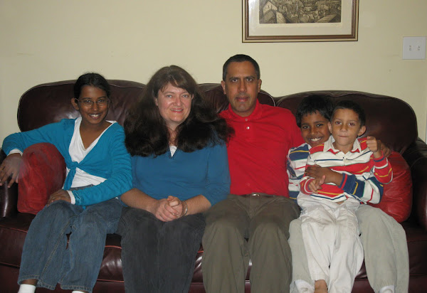 Ahmed Family Blog