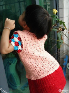 Yelek Örgü Modelleri Kız Çocuk