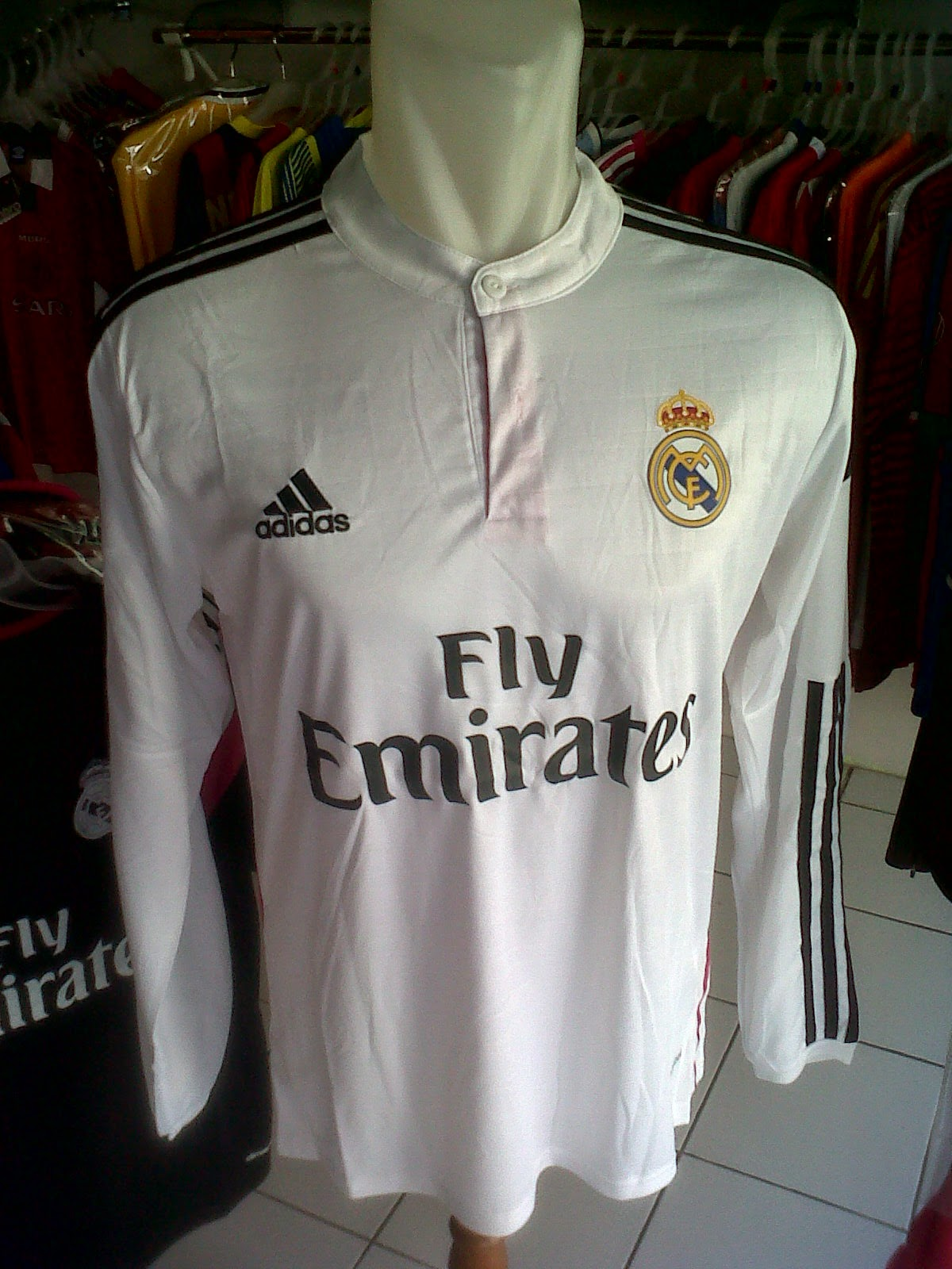 Jersey Real Madrid Home LS 2014/2015
