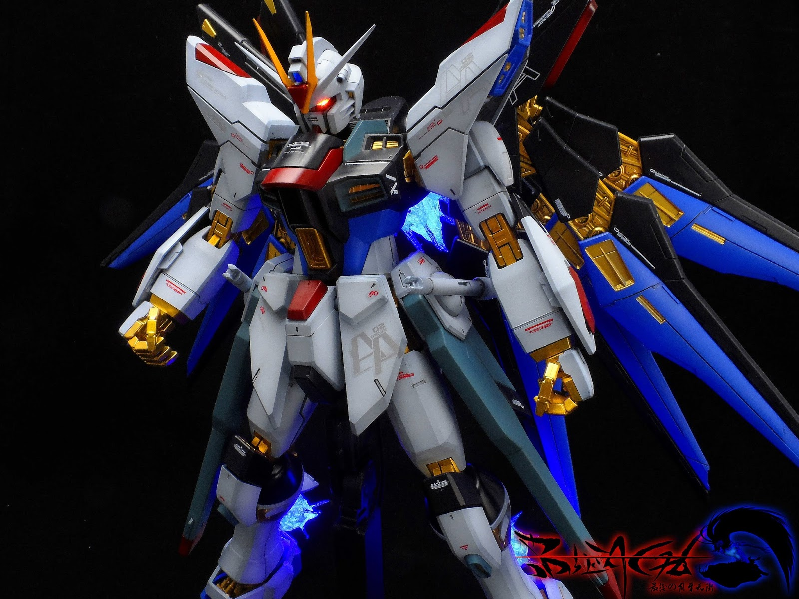 GUNDAM GUY: MG 1/100 Strike Freedom Gundam - Customized ...