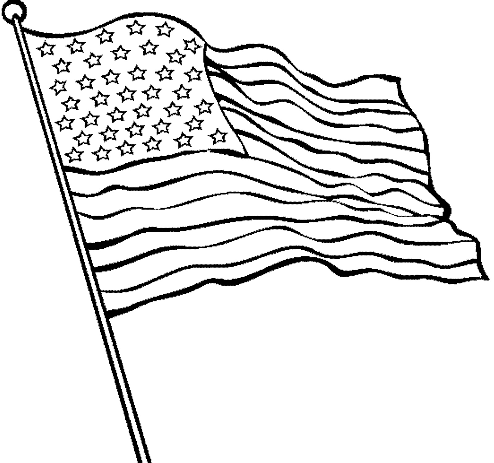 Quizlet profzara the united states of america for Coloring page of the american flag