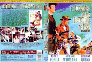 Carátula dvd: El hombre de las pistolas de oro (1959) Warlock