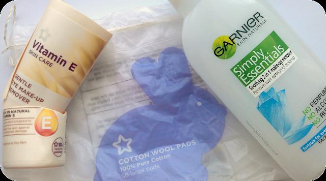 garnier skin naturals makeup remover, superdrug vitamin e skincare makeup remover