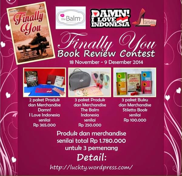 http://luckty.wordpress.com/2014/11/17/finally-you-book-review-contest/