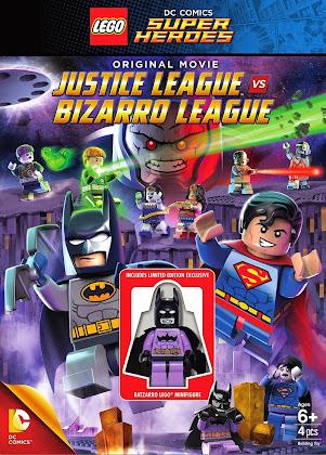 Lego DC Comics Super Heroes: Justice League vs. Bizarro League (2015) [Latino]