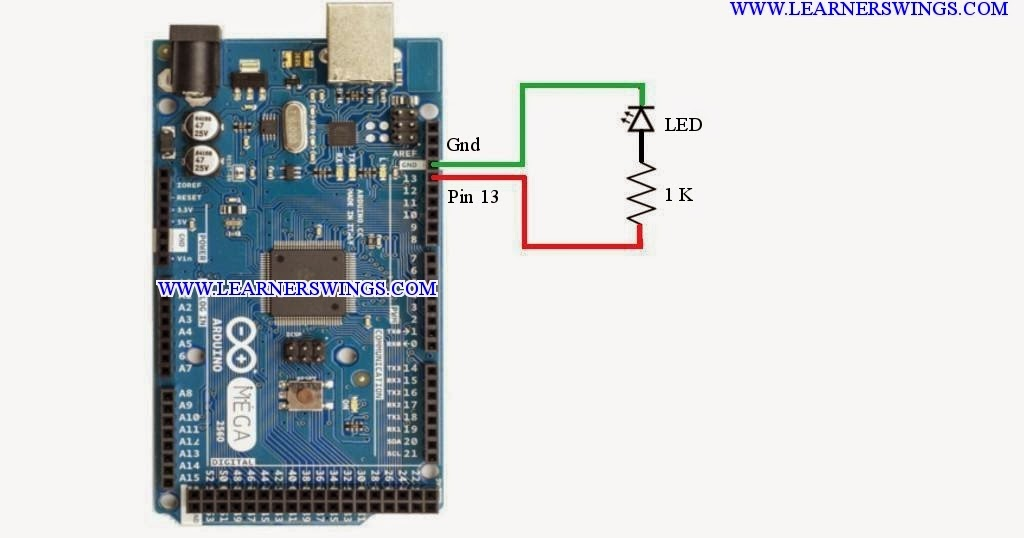 Best Method To Blink An Led Using Arduino    U00ab Funny